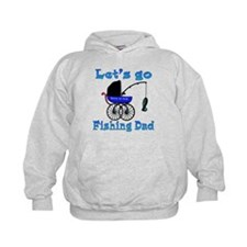 Lets go fishing buggy Hoodie