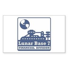 Lunar Financial Division Decal