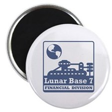 Lunar Financial Division Magnet
