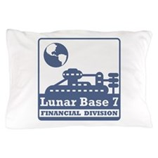 Lunar Financial Division Pillow Case