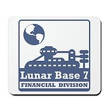 Lunar Financial Division Mousepad