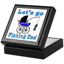 Lets go fishing buggy Keepsake Box