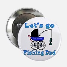 Lets go fishing buggy Button