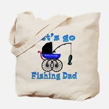 Lets go fishing buggy Tote Bag