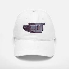 Vintage Camcorder Baseball Baseball Cap