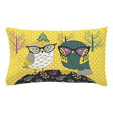 Trendy Owls Pillow Case