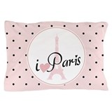 Eiffel tower Pillow Cases