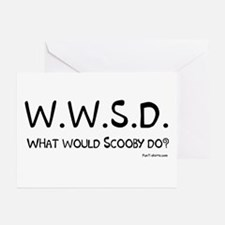 What would Scooby do? Greeting Cards (Pk of 10