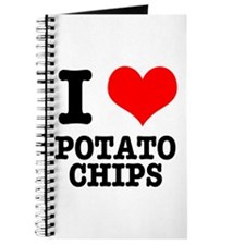 I Heart (Love) Potato Chips Journal