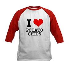 I Heart (Love) Potato Chips Tee