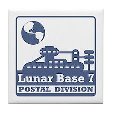 Lunar Postal Division Tile Coaster