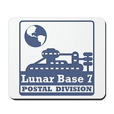 Lunar Postal Division Mousepad