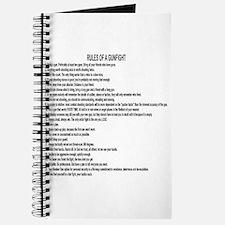23 Rules Of A Gun Fight Journal