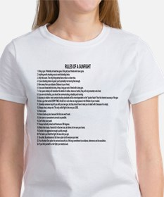 23 Rules Of A Gun Fight Women's T-Shirt
