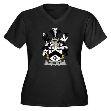 Wickliffe Family Crest Plus Size T-Shirt