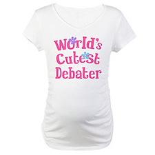 Worlds Cutest Debater Shirt