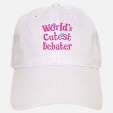 Worlds Cutest Debater Baseball Baseball Cap