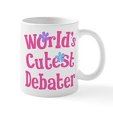 Worlds Cutest Debater Mug