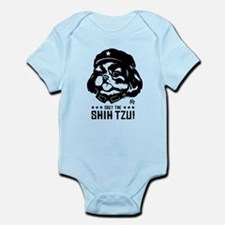 Obey the SHIH TZU! Baby creeper Body Suit