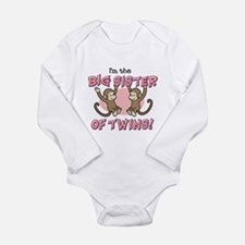 Big Sister of twins (Monkey) Body Suit