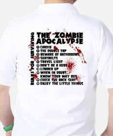 Zombie Apocalypse Rules T-Shirt