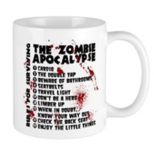 Zombie Apocalypse Rules Mug