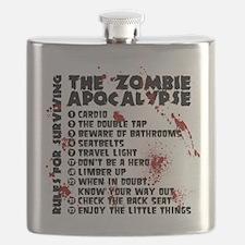 Zombie Apocalypse Rules Flask