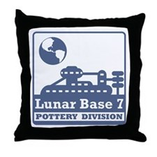 Lunar Pottery Division Throw Pillow