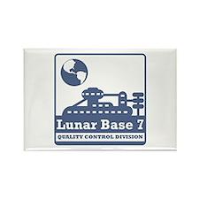 Lunar Quality Control Division Rectangle Magnet