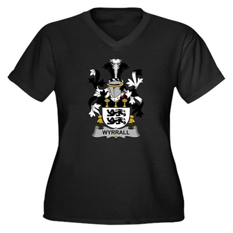 Wyrrall Family Crest Plus Size T-Shirt