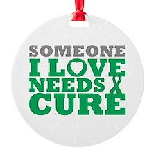 Liver Cancer Needs A Cure Ornament