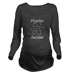 Physics Junkie Long Sleeve Maternity T-Shirt