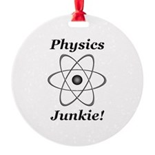 Physics Junkie Ornament