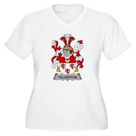 Yelverton Family Crest Plus Size T-Shirt
