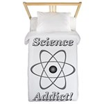 Science Addict Twin Duvet