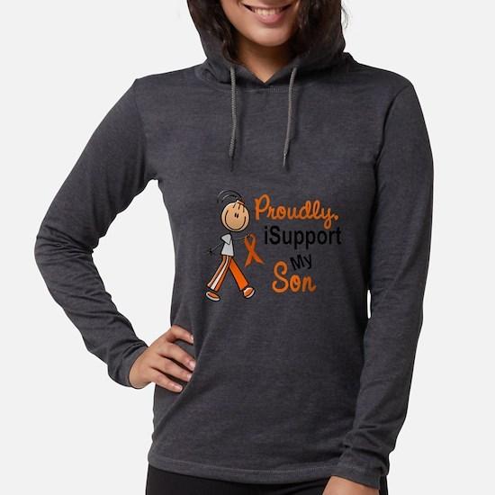 iSupport My Son SFT Orange Long Sleeve T-Shirt