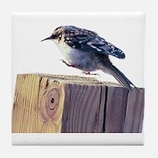 Hopping Bird Tile Coaster