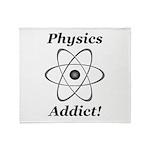 Physics Addict Throw Blanket