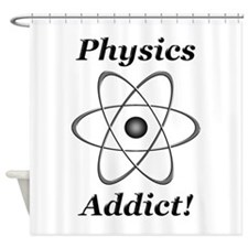 Physics Addict Shower Curtain