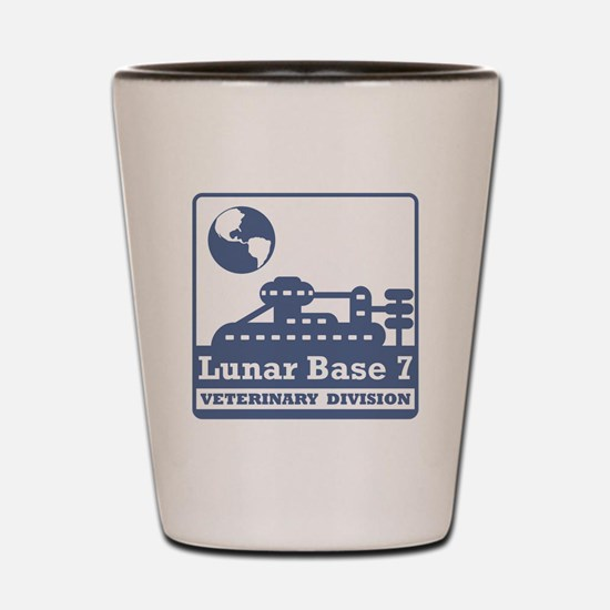 Lunar Veterinary Division Shot Glass