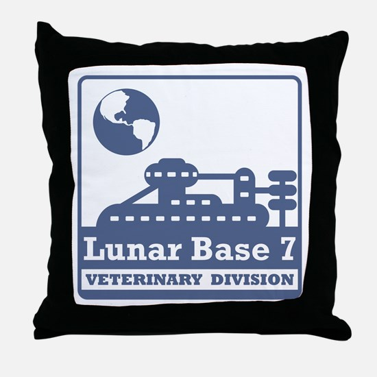 Lunar Veterinary Division Throw Pillow
