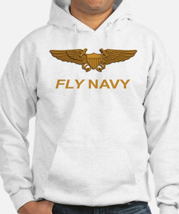 Naval Flight Officer Wings Sweatshirt