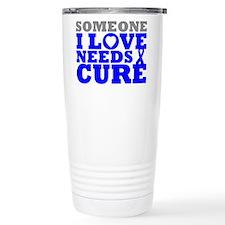 Huntingtons Disease Needs A Cure Travel Mug
