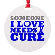 Huntingtons Disease Needs A Cure Ornament