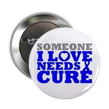 "Huntingtons Disease Needs A Cure 2.25"" Button"