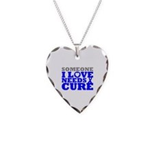 Huntingtons Disease Needs A Cure Necklace Heart Ch