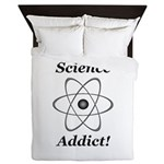 Science Addict Queen Duvet