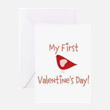 My First Valentines Day Greeting Cards