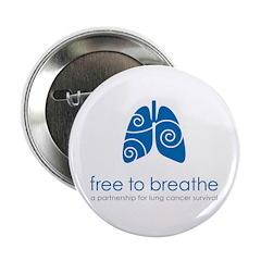 Free To Breathe Logo 2.25&Quot; Button