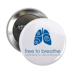 Free To Breathe Logo 2.25&Quot; Button (10 Pack)